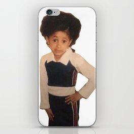 Yound Cardi B Meme iPhone Skin