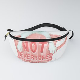 Not everyone's cup od tea - White Sphynx Cat Fanny Pack