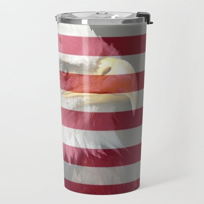 United States Freedom Eagle Travel Mug