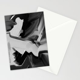 Chaos Within - Abstract Painting Stationery Cards