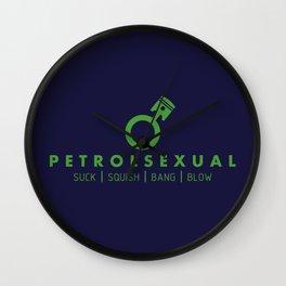 PETROLSEXUAL v3 HQvector Wall Clock