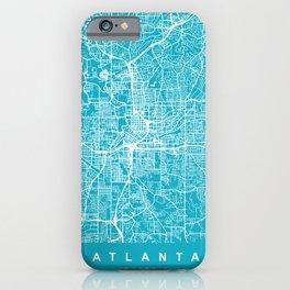 ATLANTA Map Georgia   Aqua   More Colors, Review My Collections iPhone Case