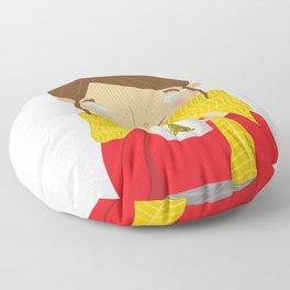 Hot Cocoa Floor Pillow