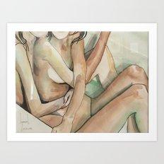 Bathtub No.4 Art Print