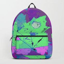 Lilac magic leaves Backpack