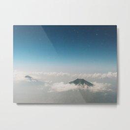 Two Mountains Metal Print