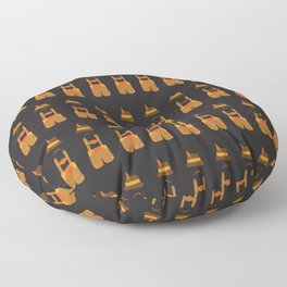 Oktoberfest guy. Lederhosen  Floor Pillow