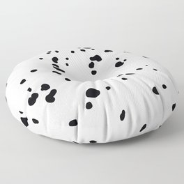 Dalmatian spots Floor Pillow