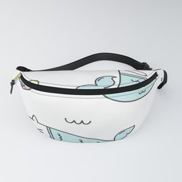 Ocean Merkitties Fanny Pack