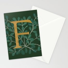 Forest Letter F 2018 Stationery Cards