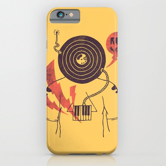 The Vinyl Frontier (alternate) iPhone & iPod Case