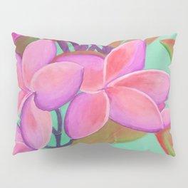 Pink Flowers Pink Pillow Sham