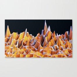 Overscan Range Canvas Print