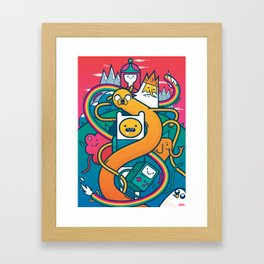 AdventureTime Framed Art Print