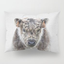Fluffy Cow - Colorful Pillow Sham