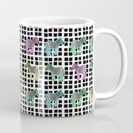 Cute and Colourful Zebra Pattern Coffee Mug
