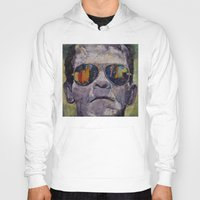 frankenstein Hoodies featuring Frankenstein by Michael Creese