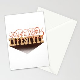 Rock n' Roll Lifestyle Stationery Cards