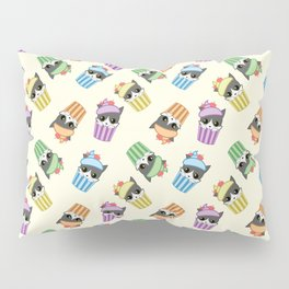 cupcake kitty Pillow Sham