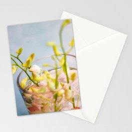 Base and Flowers Stationery Cards