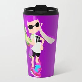Inkling Girl (Purple) - Splatoon Travel Mug