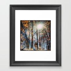 North 6 Framed Art Print