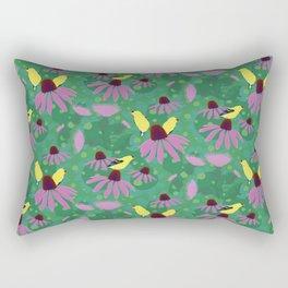 Purple Pink Prickle Rectangular Pillow