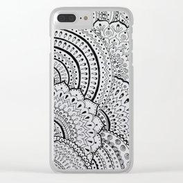 Бесконечность линий Clear iPhone Case