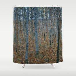 Gustav Klimt - Beech Grove Shower Curtain