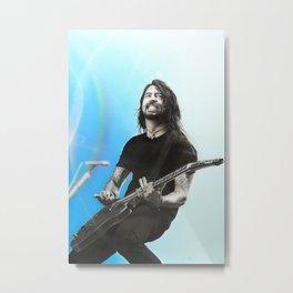 'Grohl IV' Metal Print