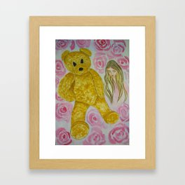 expresss your love Framed Art Print