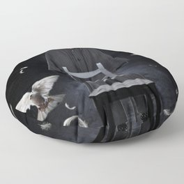 The great illusionist Floor Pillow