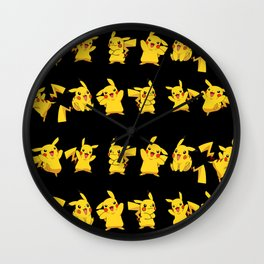 Pikachú Pokémon Wall Clock