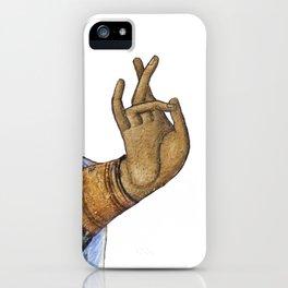 Saint's Hand iPhone Case