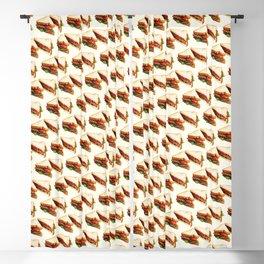 Sandwich Pattern BLT Blackout Curtain