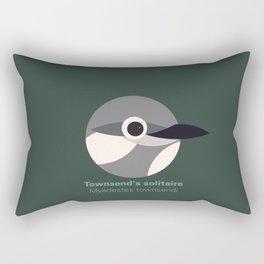 Townsend's solitaire Rectangular Pillow
