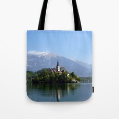 Lake Bled, Slovenia Tote Bag