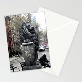 Lou Reed Lion Stationery Cards