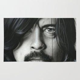'Grohl In Black II' Rug