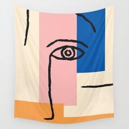 Matisse, Face Art Wall Tapestry