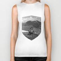 arizona Biker Tanks featuring Arizona by WeLoveHumans