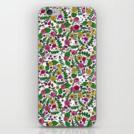 Cute Chintz Floral Pattern iPhone Skin