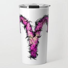 Aries Zodiac Sign Travel Mug