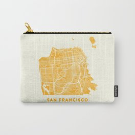 San Francisco City Map 03 Carry-All Pouch