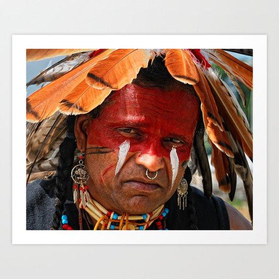Chippewa Grass Dancer Art Print