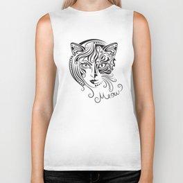 Cat woman. Biker Tank