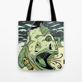Something Fishy this way Comes Tote Bag