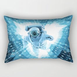 Quantum Cradle Rectangular Pillow