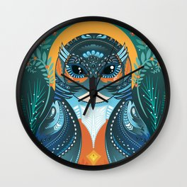 The Fisher King Wall Clock