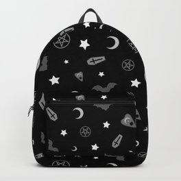 goth occult pattern Backpack